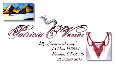 Patricia C. Vener – New Business Card Design