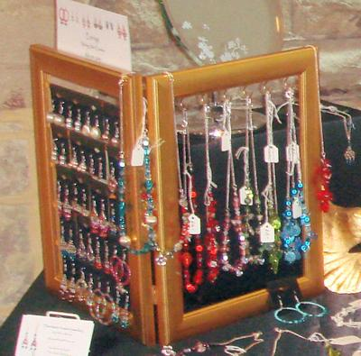 Photo Frame Jewellery Display for Earrings and Necklaces