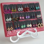 Shabby Chic Boutique Style Earring Display