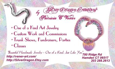 Silver Dragon Creations by Patricia Vener Colorful, Informative
