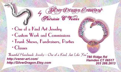 Silver Dragon Creations by Patricia Vener Colorful, Informative