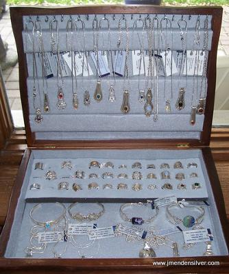 Silverware Box Display for Sterling Spoon Jewelry