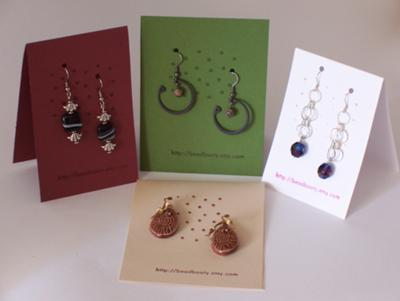 simple earring hang tags jewelry making journal