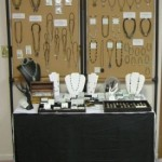 Small Jewelry Booth Idea