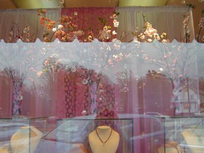 Spring Has Sprung: Jewelry Store Window Display