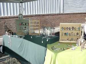 Windproof Jewelry Displays