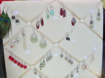 Use What You Have – Earring Display