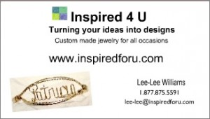 Version 2 – Inspired 4 U Jewelry Business Cards
