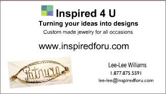Version 2 Inspired 4 U Jewelry Business Cards Jewelry