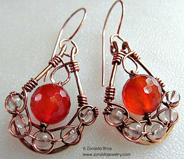 Bead and Wire Earrings: Boost Sales!