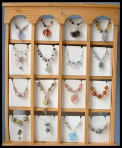 Necklace Display Cabinet Project