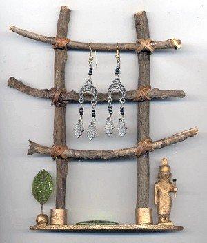 Ladder Earring Display