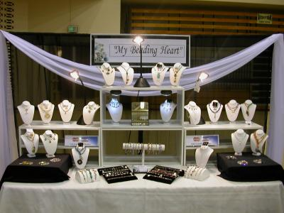 Inexpensive Banner for Jewelry Booth