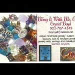Jewelry Business Card: Bling It With Me, CAB