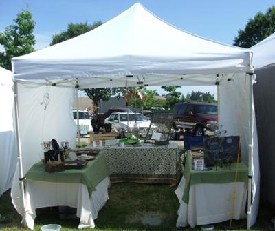 Kim Forrer Designs: Outdoor Jewelry Booth