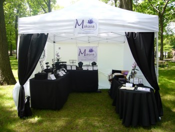 Jewelry Booth Design with Style