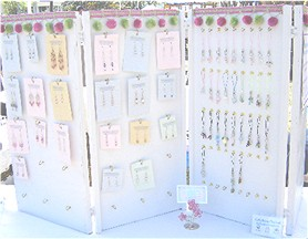 Melanie's Beads Earring Display