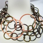 Mixed Metal Wrap Bracelet Tutorial