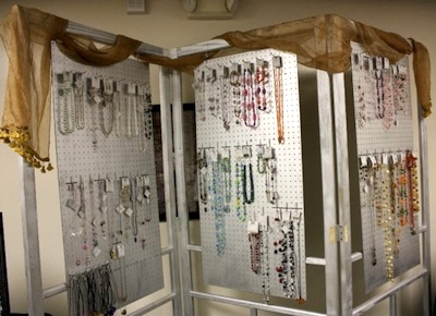 MP Designs Jewelry Booth
