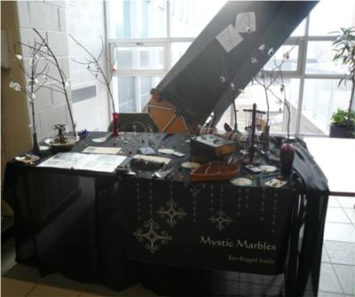 Mystic Marbles Jewelry – My First Booth