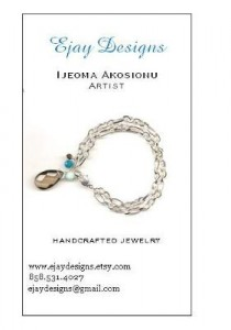 New Jewelry Business Card