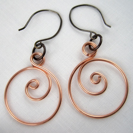 spiral-hoop-earrings