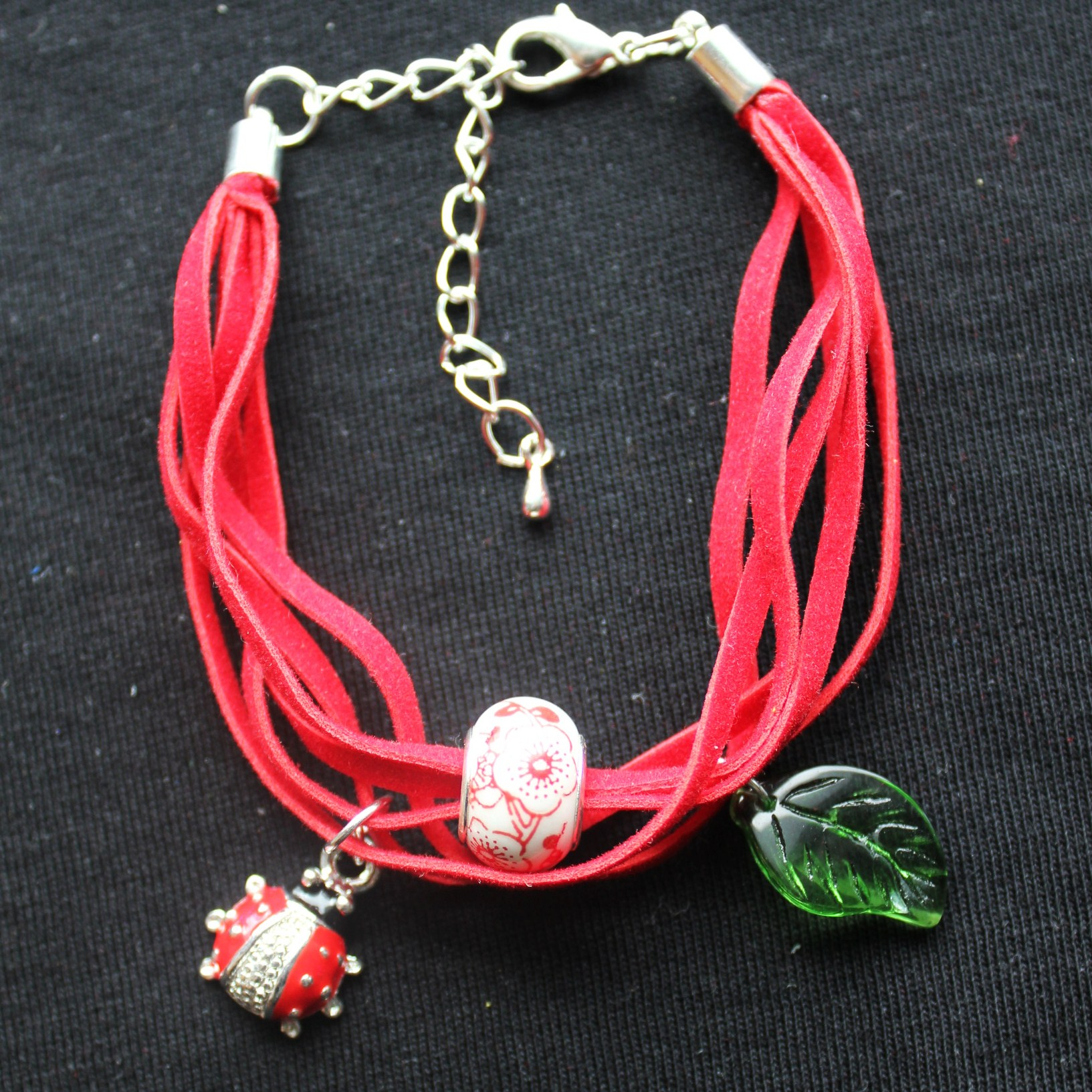 Leather Bracelets with Pendants