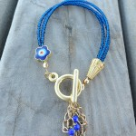 Gold Plated Evil Eye Bracelets