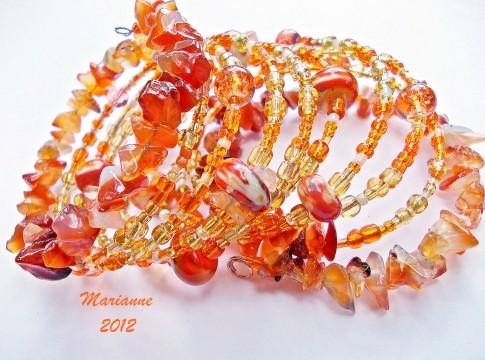 Tangerine Dream Bracelet - Marianne Melnik