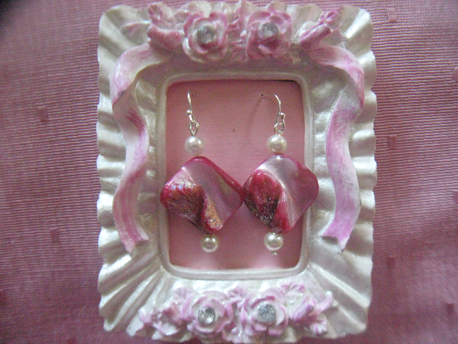 Mini Picture Frame Earring Displays