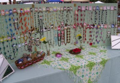Creative Simply Beadiful Jewelry Display