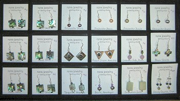 Earring Cards for Smaller Earrings – 2 x 2