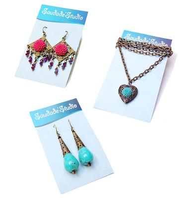 Earring Cards That Are Also Necklace