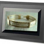 Electronic Picture Frame with Jewelry Photos