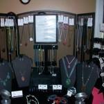 Fireplace Screen Jewelry Display