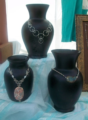 Earthly Expressions Jewelry Booth: Pulling It All Together