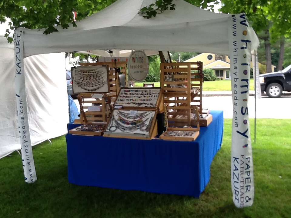 Portable, Pretty, Perfect Square  Outdoor Booth Space