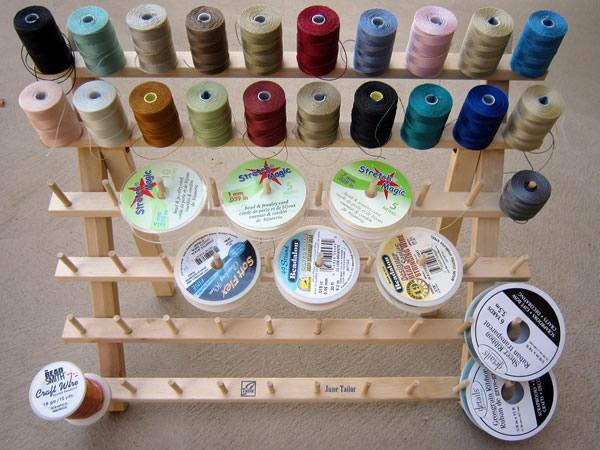 Organizing Jewelry Stringing Supplies