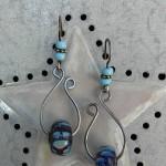 Lampwork Ear Candy