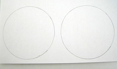 circles for shrink plastic earring designs