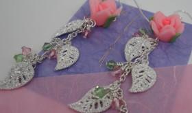 Rose Garden Dangle Earrings