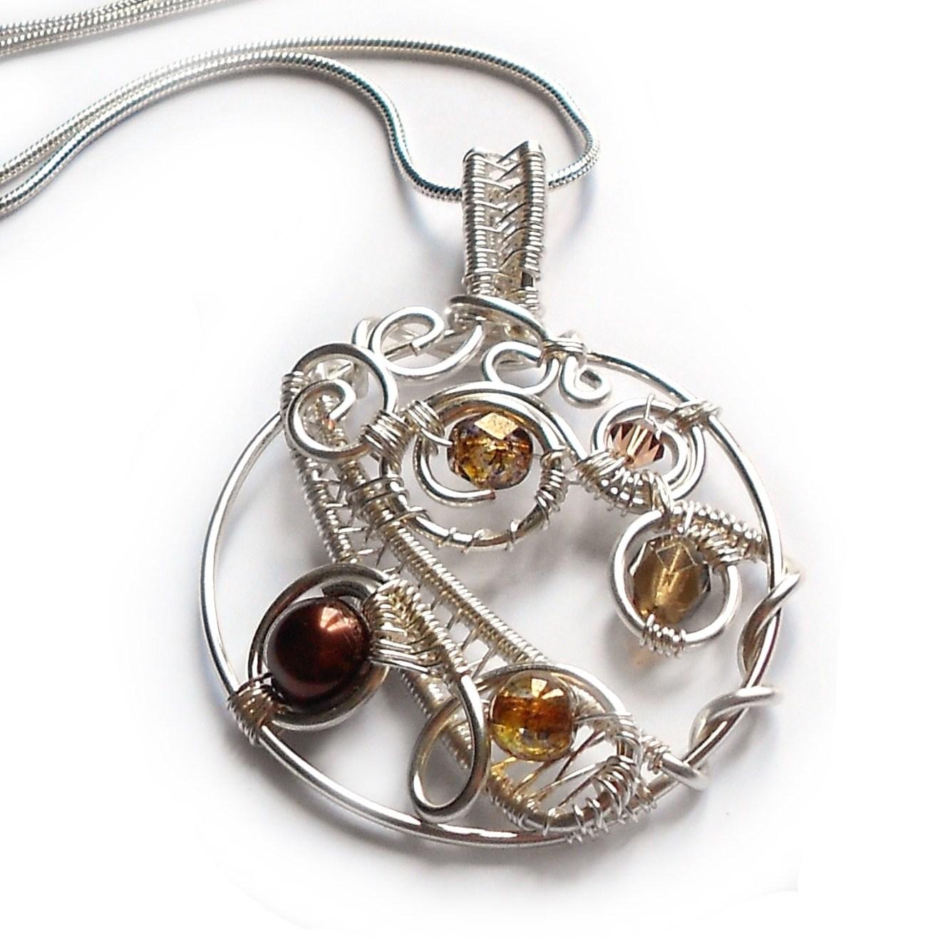 Autumn Weave — Jewelry Making Journal