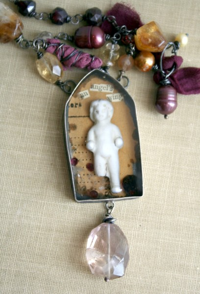 Reliquary Necklace - Brenda Braun