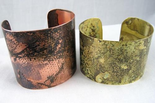 Rustic Cuff Bracelets By Rena Klingenberg