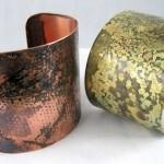 Rustic Cuff Bracelet Tutorial by Rena Klingenberg