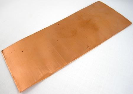 Copper for rustic cuff bracelet