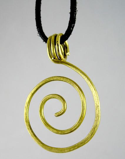 Zen Spiral Pendant Tutorial