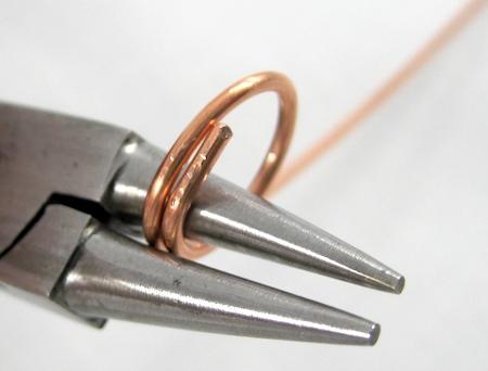 wire jewelry project