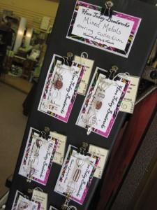 Bakers Rack Earring Display