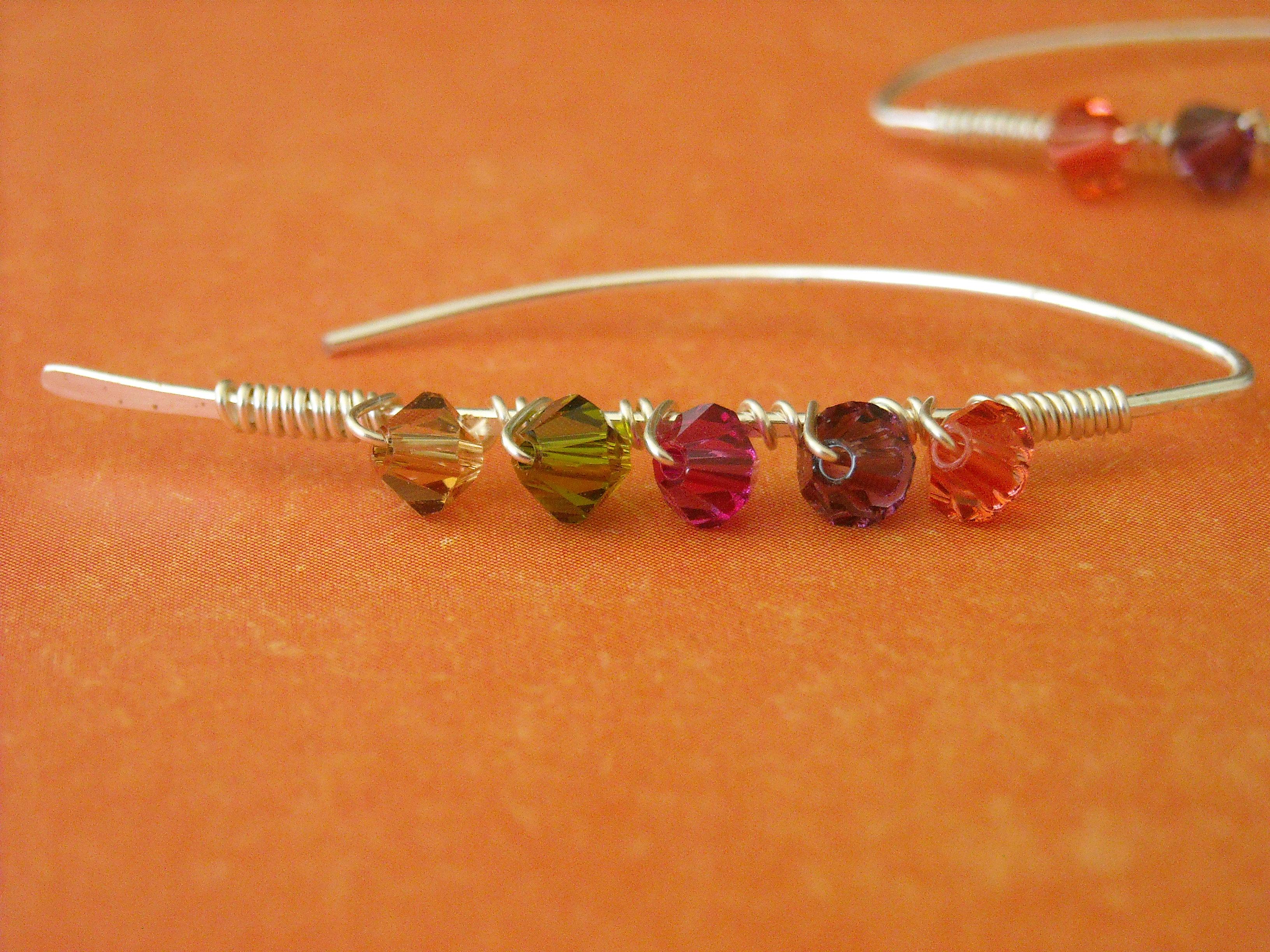 Color Streak: Crystals & Wire
